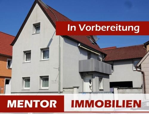 Vorankündigung – Einfamilienhaus in Schwebheim