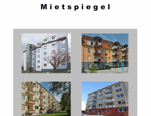 NEU – Mietspiegel Schweinfurt