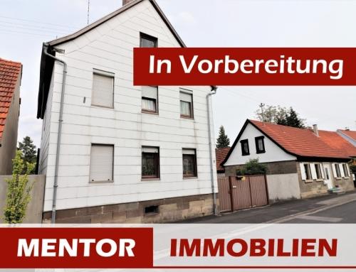 Vorankündigung – Einfamilienhaus in Oberlauringen
