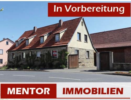 Vorankündigung – Einfamilienhaus mit Nebengebäuden in Sömmersdorf