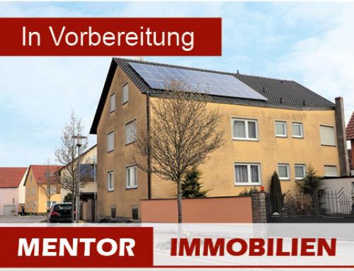 Vorankündigung – Zweifamilienhaus mit großem Nebengebäude in Donnersdorf