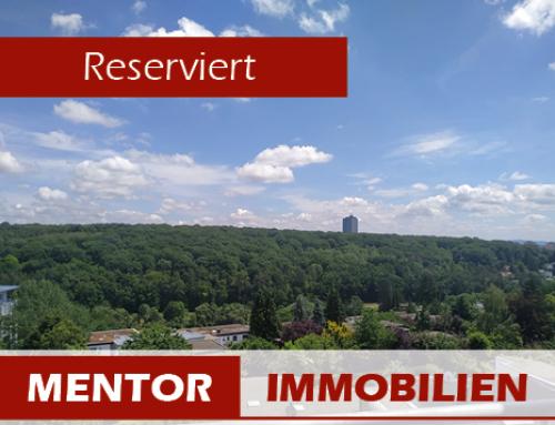 Reserviert – Großzügiges 1 Zimmer Apartment mit Blick auf den Steigerwald