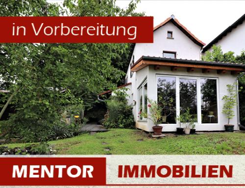 Vorankündigung – Kleines Haus mit großem Garten, Stadtgrenze Schweinfurt