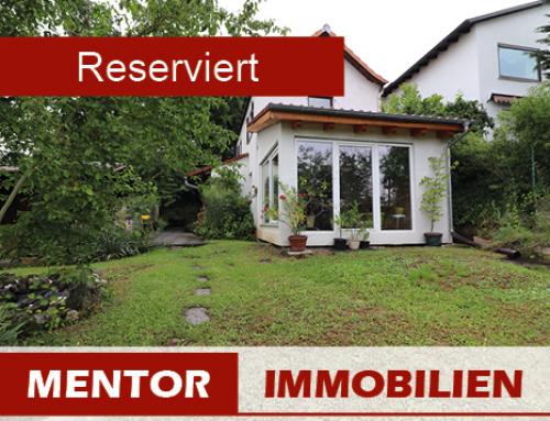 Reserviert – Kleines Haus mit großem Garten, Stadtgrenze Schweinfurt