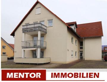 Attraktive Kapitalanlage, 3-Zi. Eigentumswohnung, 97493 Bergrheinfeld, Etagenwohnung