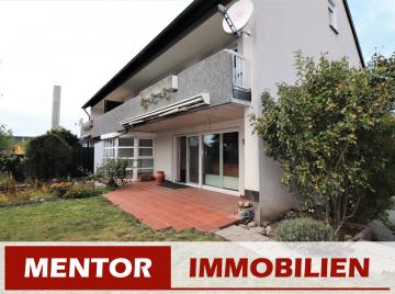 Schöne Maisonette-Wohnung mit Balkon, Terrasse und Garten, 97508 Grettstadt, Maisonettewohnung