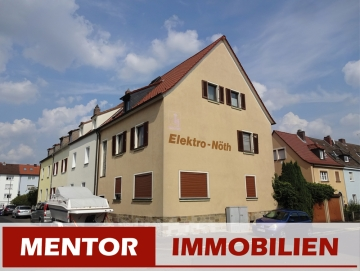 Wohn- und Geschäftshaus in Innenstadtlage, 97421 Schweinfurt, Mehrfamilienhaus