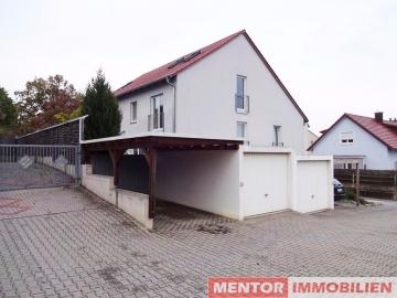 Mod. Einfamilienhaus, viel Platz, zentrumsnah u. doch ruhig., 97422 Schweinfurt, Doppelhaushälfte