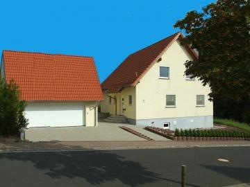 Modernes Wohnhaus 1998 nach Niedrigenergiestandard gebaut, 97711 Maßbach, Einfamilienhaus