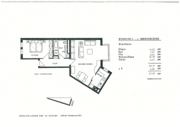 Sehr schöne Zweizimmerwohnung in der City von Schweinfurt!, 97421 Schweinfurt, Etagenwohnung