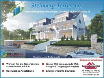Neubau Eigentumswohnungen Leislerstraße, 97422 Schweinfurt, Etagenwohnung