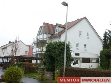 Moderne Zweizimmerwohnung mit Balkon und Carport, 97464 Niederwerrn, Etagenwohnung