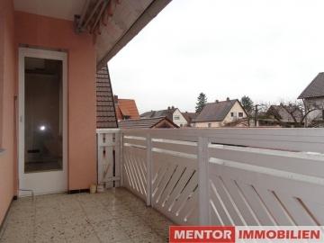 Rustikale Zweizimmerwohnung mit Balkon!, 97464 Niederwerrn, Etagenwohnung